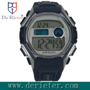 China ABS watch case plastic water band Auto Date Waterproof Sport Watch OEM ODM on sale