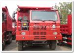 mining tipper truck / dump truck bottom thickness 12mm and HYVA Hydraulic lifting system