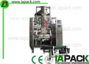 China High Efficiency Vertical Form Fill Seal Machine Automated PLC Servo on sale