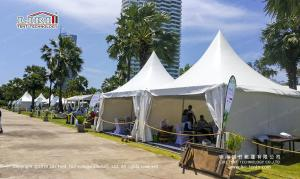 China Garden pagoda tent 5x5m in Thailand for weddings for sale on sale