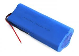 China Rechargeable Lithium Ion Battery Pack 18650 2S3P 7800mah 7.4V Li ion Battery on sale