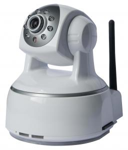 China 1MP Indoor CCTV Wireless Wifi IP Camera Pan / Tilt Support P2P PNP , Two-way Audio , H.264 on sale
