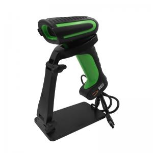 China Kebo SK-6000 Industrial Wired Waterproof Handheld USB Bar Code Reader 1d Laser barcode scanner with holder on sale