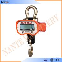 China Portable Electronic Crane Hook , Reliable Stable Digital Manual Lifting Equipment on sale