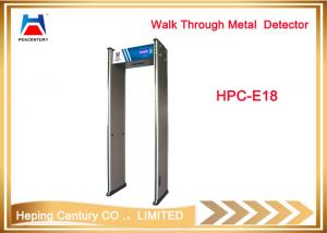 China Best price electronic security equipment airport walk through metal detector on sale