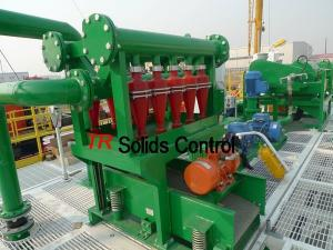 China Drilling Desilter for oil gas bentonite cuttings recovery management on sale