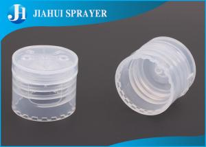 China Child - Proof Plastic Cap Lids Bottle Caps Closures For Toothpaste Tubes , Standard Private Label on sale
