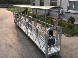 China Aluminum Alloy Suspended Scaffold Platform 220v 60hz Three Phase Zlp800 on sale