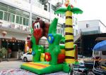 China PVC Tarpaulin Monkey Jumping Inflatable Bouncy Castle With CE and TUV wholesale