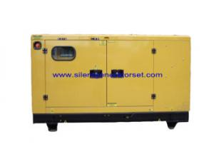 China 3PH Water Cooled Ultra Silent Diesel Generator 100% Load With Engine on sale