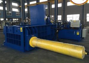 China Waste Scrap Metal Baler Power Press Machine Hydraulic Driving 450 X 450mm on sale