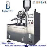 China Semi Automatic Tube Filling Sealing Machine For Aluminum Tube on sale