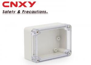 China IP65 electronic ABS plastic junction box 83*58*33mm transparent  junction box on sale