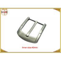 Simple Custom Gunmetal Plating Metal Belt Buckle for Men 40MM Pin Style