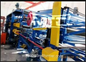 China EPS/Rockwool Insulated Sandwich Panel Manufacturing Line on sale