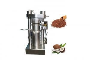 China Metal Hydraulic Oil Press Machine For Rapeseed Oil With 1 Year Warantty on sale