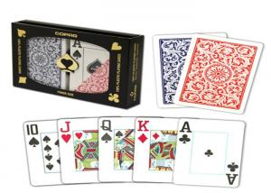 China Durable Copag 1546 Marked Poker Cards  , 2 Marked Card Deck Set For Poker Cheat on sale