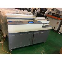 Perfect Glue Spiral Binding Machine A4 Size 320mm With Sun / Slotting Knife