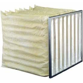China Aluminum alloy Frame Medium Filter Industrial and micron bag filter for housing for air condition system on sale