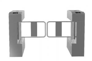 China 304# Stainless Steel Swing Gate Turnstile bi-directional grade A on sale