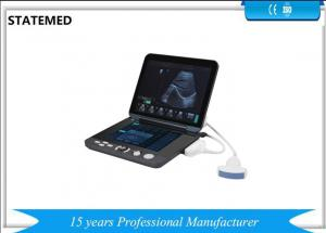 China LED Touch Screen Handheld Portable Ultrasound Scanner 2.0-15.0MHZ on sale
