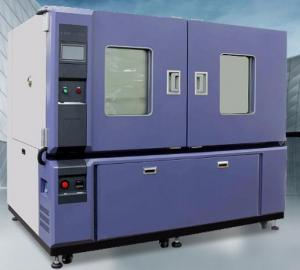 China -25℃ ~ +70℃ 64L Benchtop / Desktop Climatic Test Chamber With Hand A Hole Operation Inside Chamber on sale
