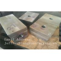 SA182 F316 F304 SForged Steel Products Forgings Block Solution Milled And Drilling