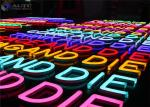 Electronic Flexible Outdoor Neon Lights Customized Size Long Life
