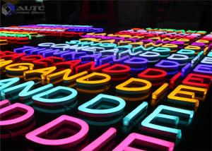 China Electronic Flexible Outdoor Neon Lights Customized Size Long Life on sale