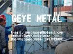 Barrière saine fortement absorbante, panneaux perforés en métal de mur de barrière de bruit (laine de verre et couverture Infilled d'atténuation)