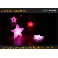 China Christmas decorative star shaped led light for events / party / wedding on sale