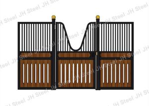 China Hot Dipped Galvanized Steel Tarter Stall Fronts Equestrian Sport Equipment on sale