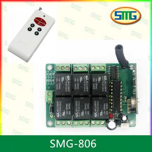 China Wireless rf room lights remote control switch SMG-806 on sale