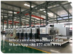 China YUNXIANG Group Lead Edge High Definition Flexo Printer Slotter Machine on sale