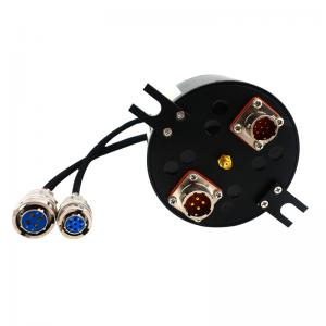 Quality 10 Wires Electrical Slip Ring RF Integrating Coaxial Rotary Joint with Wide for sale