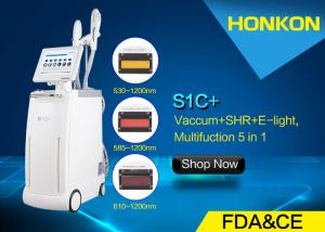 China Vacuum RF IPL Beauty Equipment , Facial Hair Removal Machine For Women on sale