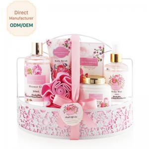 China White Rose Bathroom Gift Set Natural Fragrance Moisturizing Feature on sale