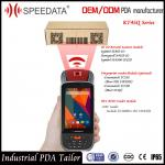 China 4G Rugged Android 5.1 Portable Data Collector PDA with Handheld Barcode Scanner wholesale