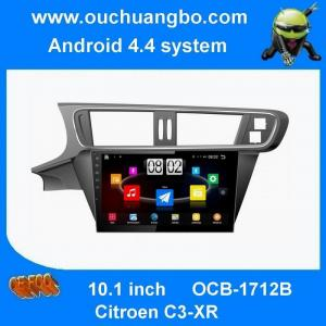 China Ouchuangbo 10. inch android 4.4 DVD radio system for Citroen C3-XR Fit car radio gps with gps 3g wifi on sale
