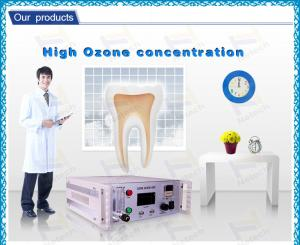 China 7g/h Medical Ozone Generator / Ozone Therapy Machine Ozone Dental 220V For Teeth on sale