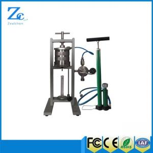 China ZNS-5MP Filter press with API standard drilling fluid cup on sale