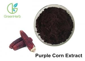 China UV Tested Monomer Powder 25% Anthocyanidins Purple Corn Extract Anti - Inflammatory on sale