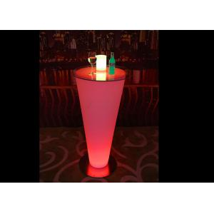 China PE Luminous LED Table Furniture Low Power Consumption Night Club Decoration on sale