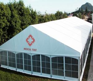 China Portable Inflatable Hospital Emergency Tent Easy To Operate Customized Color on sale