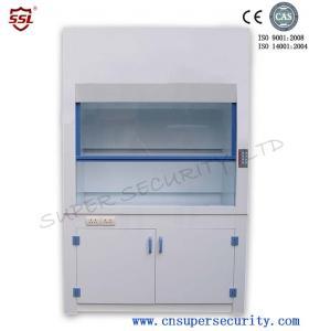 Quality capacidad de Pfh de la Moho-resistencia de la capilla del humo del laboratorio del polipropileno de 8m m alta para la sustancia corrosiva for sale