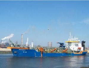China low price sand dredger for sale on sale