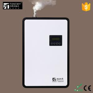 China Hotel Lobby 8W Power Supply Hvac Aroma Diffuser Equipment Aluminum Material Bottle With 500 ML Oil on sale