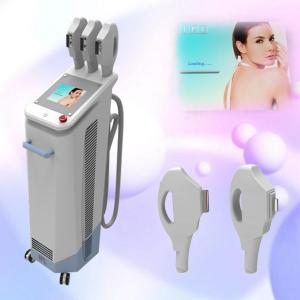 China Three handles IPL Beauty Machine for Depilation with Super Big Spot Size 16*57mm on sale