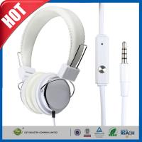 Fashion White Iphone Headphone or Earphone Earbuds Mic Over-ear