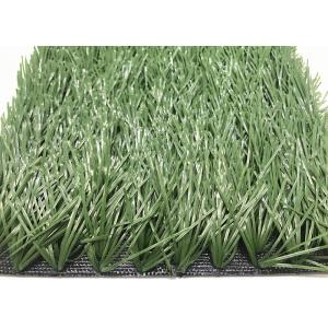 Durable Surface Artificial Grass Carpet , Multi - Purpose Synthetic Soccer Grass
